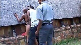 Brazilian Woman Abused by Big Black Cock - 7:56