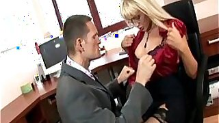 Office boss fucked in the ass - 8:04