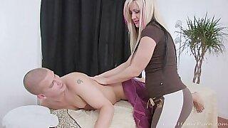 Busty blonde ATD street slut - 32:12