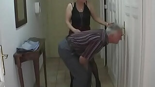 She gets into 3some by his parents - 6:00