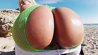 Bubble butt babe Blondie Fesser - 7:00