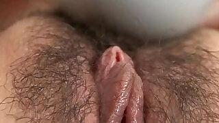 Aoi Mizumori plays shaved pussy in sensual solo - 10:00