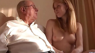 Old Young Porn Grandpa likes to fuck young girls lick pussies - 7:00