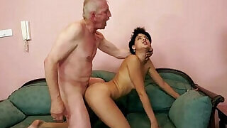 Grandpa rear fucking dirty amateur slut - 5:00