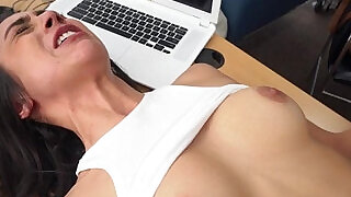 Casting hottie banged by her black agent - 6:00