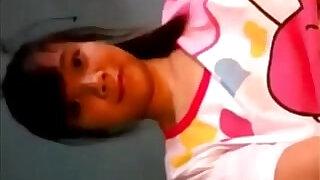 Asian school girl gives pleasure - 3:00