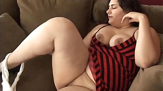 Beautiful big belly, boobs booty BBW wishes you were fucking her fat pussy - 11:00