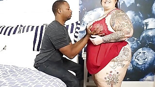 BBW Pawg Goddess Veronica Bottoms and Don Prince Behind the scenes - 5:00