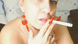 Webcam watch her Live Show Smoking Milf - 5:00