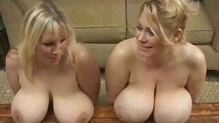 big tit milfs shake tits and rub nipples - 2:00