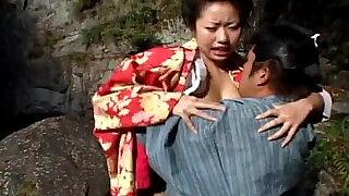 Sexy geisha Kotone Yamashita fucked very hard - 8:00