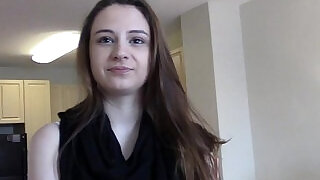 PropertySex Young real estate agent with natural tits homemade sex - 12:00