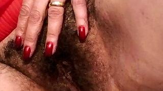 Hairy granny takes a pounding - 6:00