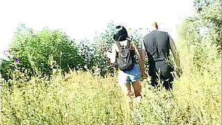 Daddy banged sweet Daughter Outdoor - 14:00