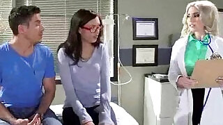 Hard Sex Tape With Doctor Bang Horny Patient movie - 5:00