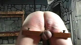 humiliated and spanked submissive guy - 6:00