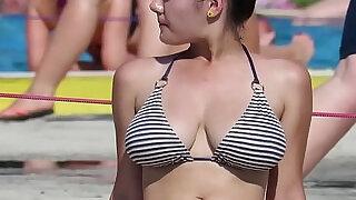 Thong Ass Big Latina Bikini Beach Voyeur Spycam - 13:00