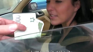 Eurosex girlnextdoor creampied in a car - 8:00