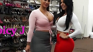 Behind the Scenes with naughty Latina Babes Spicy J and Diamond Kitty - 10:00