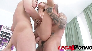 Petite hottie gina gerson got fucked hard double penetrated dp - 0:42