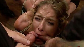 Bound in public groped and fucked - 15:00