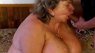 Crazy old mom gets cock - 5:00