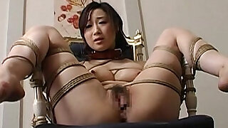 Toy fucked tied up and pussy waxed - 8:00