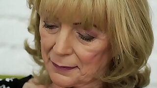 Old lady Szuzanne and her big cocked young lover - 6:00