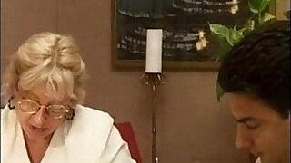 Blonde Granny fucking - 19:00