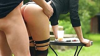 European slut rides a hard cock - 10:00