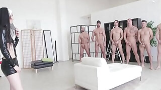 Incredible Video!! Super Model Crystal Greenvelle Double Anal GangBang - 1:41