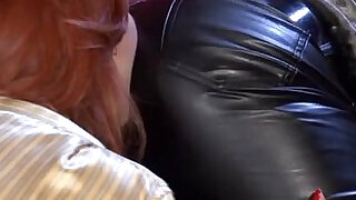 Hot Lesbians In Leather Pants... - 35:00