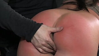 OTK Spanking Slut In Rope Bondage - 6:00