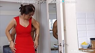 Hard cheating Brunette MILF invasion Her face popped whilst she was - 5:30