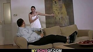Hyo gets banged by her Daddy with Stroking and oral - 6:29