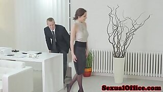 Georg Moms fucked in office - 10:12